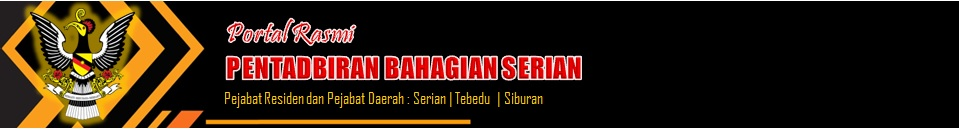 Selamat Datang Ke Laman Web Pejabat Daerah Serian